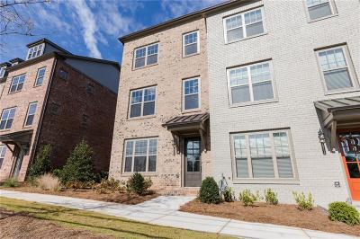 Roswell  Condo/Townhouse For Sale: 10112 Windalier Way