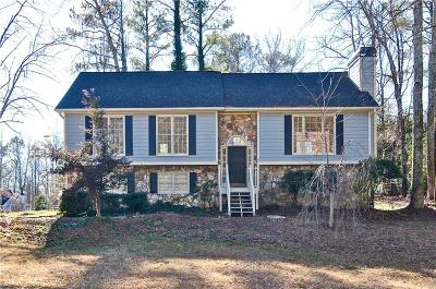 Powder Springs Single Family Home For Sale: 3300 Hillside Drive
