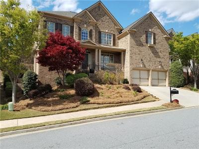 Smyrna Single Family Home For Sale: 444 Oak Valley Circle SE