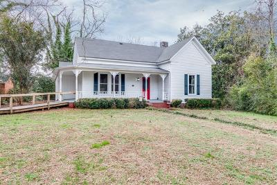 Adairsville Single Family Home For Sale: 115 N Railroad Street