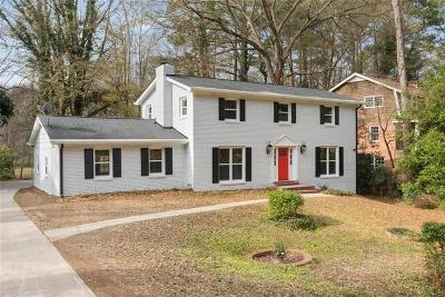 Roswell Single Family Home For Sale: 9850 La View Circle