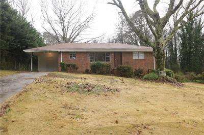 Mableton Single Family Home For Sale: 6520 Dodgen Road SW