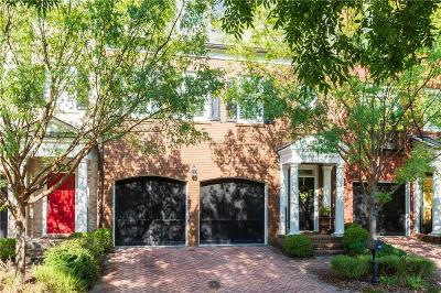 Atlanta Condo/Townhouse For Sale: 3305 Buckhead Forest Mews NE