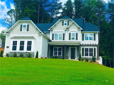 Milton Single Family Home For Sale: 10080 Peaks Parkway