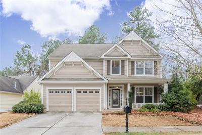 Acworth Single Family Home For Sale: 3967 Allatoona Springs Lane NW