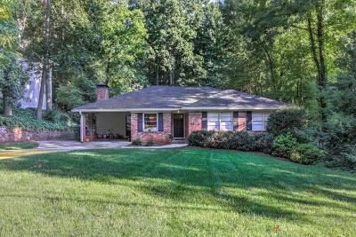 Buckhead Single Family Home For Sale: 4614 E Conway Drive NW