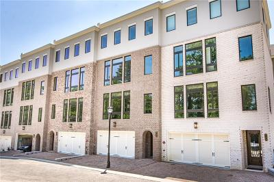 Atlanta Condo/Townhouse For Sale: 2862 Lenox Road NE #17