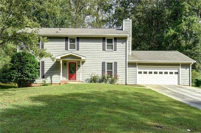 Smyrna Single Family Home For Sale: 73 Vanessa Drive SE