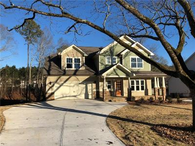 Loganville Single Family Home For Sale: 3324 Oak Grove Road