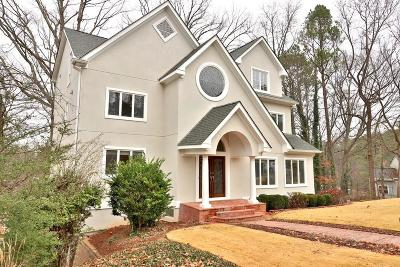 Roswell Single Family Home For Sale: 180 Kinross Court
