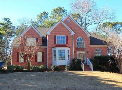 Acworth Single Family Home For Sale: 6207 Benbrooke Drive NW