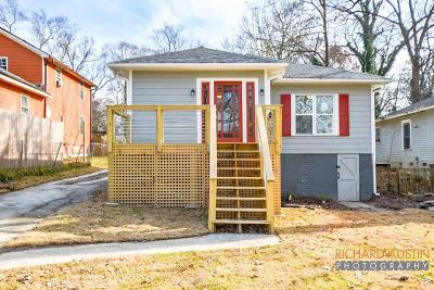 Single Family Home For Sale: 2624 Church Street NW