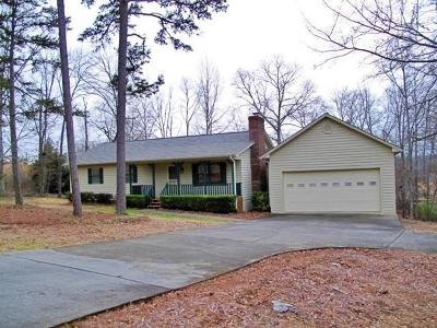 Flowery Branch Single Family Home For Sale: 7298 Spout Springs Road
