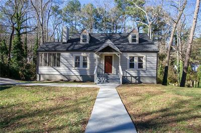 Single Family Home For Sale: 1195 Cahaba Drive SW