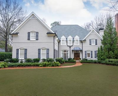 Atlanta Single Family Home For Sale: 70 Abington Court NW