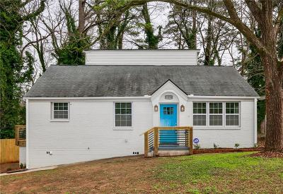 Decatur GA Single Family Home For Sale: $289,000