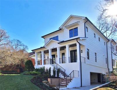Virginia Highland Single Family Home For Sale: 649 Elmwood Drive NE