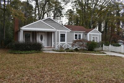 Decatur Single Family Home For Sale: 2519 Pine View Drive