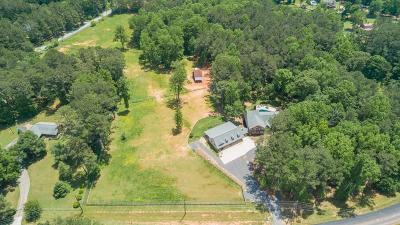 Acworth Single Family Home For Sale: 3442 Cheatham Road NW