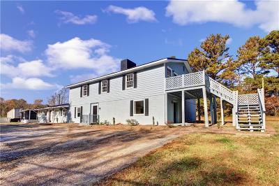 Hiram Single Family Home For Sale: 6655 Ridge Road