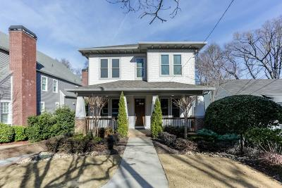 Virginia Highland Single Family Home For Sale: 746 Ponce De Leon Terrace NE