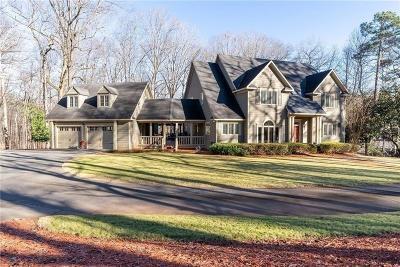 Marietta Single Family Home For Sale: 911 Cheatham Hill Road SW