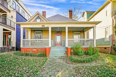 Old Fourth Ward Single Family Home For Sale: 567 East Avenue NE