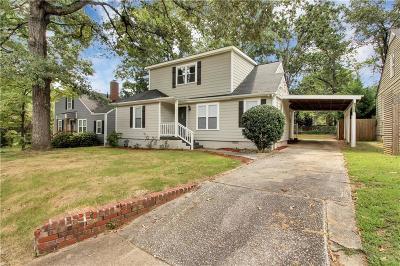 College Park Single Family Home For Sale: 1678 John Calvin Avenue