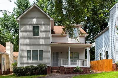 Single Family Home For Sale: 1007 Camilla Street SW