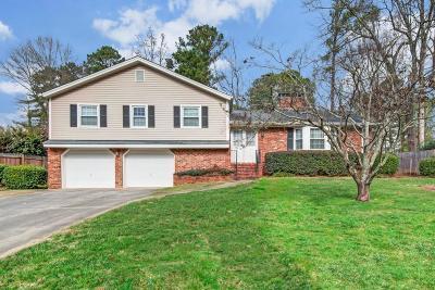 Marietta Single Family Home For Sale: 3011 Greenwood Trail SE