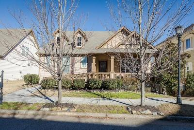 Single Family Home For Sale: 1540 Craftsman Road NW
