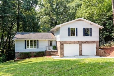 Brookhaven Single Family Home For Sale: 1315 Becket Drive NE
