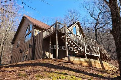 Jasper Single Family Home For Sale: 989 Oglethorpe Mountain Road