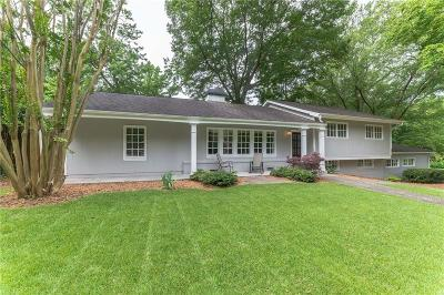 Brookhaven Single Family Home For Sale: 2471 Cove Circle NE