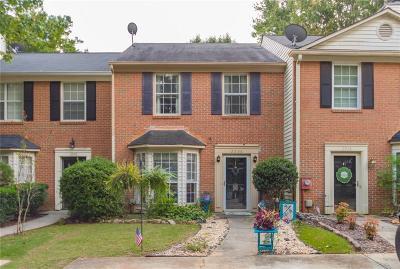 Smyrna Condo/Townhouse For Sale: 2956 Lexington Trace Drive SE