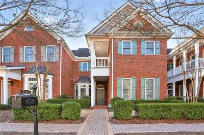 Roswell Condo/Townhouse For Sale: 8420 Parker Place