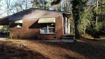 Atlanta Single Family Home For Sale: 749 Alfred Road NW