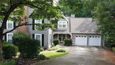Dunwoody Single Family Home For Sale: 1116 Santa Fe Station