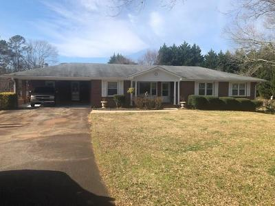 Marietta Single Family Home For Sale: 80 Mount Calvary Road NW