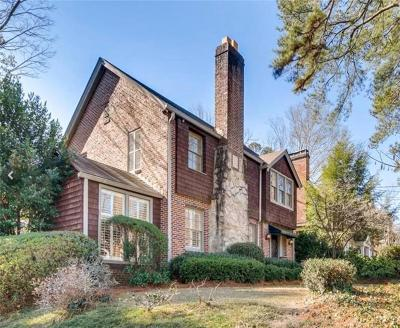 Atlanta Single Family Home For Sale: 745 E Morningside Drive NE