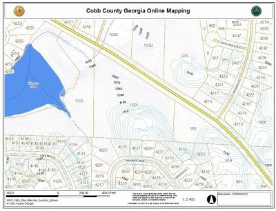 Kennesaw Residential Lots & Land For Sale: 1001 Wooten Lake Road