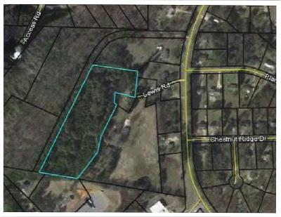 Cartersville Residential Lots & Land For Sale: Lewis Road