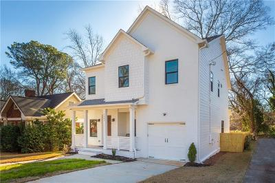 Atlanta Single Family Home For Sale: 2085 Delano Drive NE
