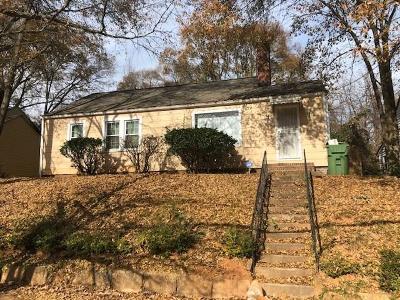 Single Family Home For Sale: 1169 Fair Street SW