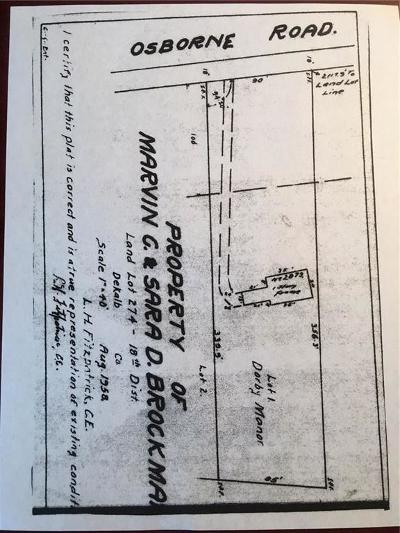 Brookhaven Residential Lots & Land For Sale: 2873 NE Osborne Road NE