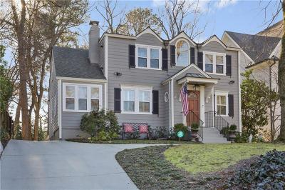 Single Family Home For Sale: 2159 McKinley Road NW