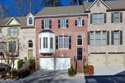 Sandy Springs Condo/Townhouse For Sale: 7258 Village Creek Trace