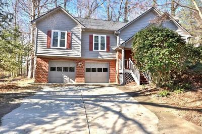 Powder Springs Single Family Home For Sale: 3370 Hickory Lane