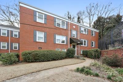 Atlanta Condo/Townhouse For Sale: 554 Goldsboro Road NE #B