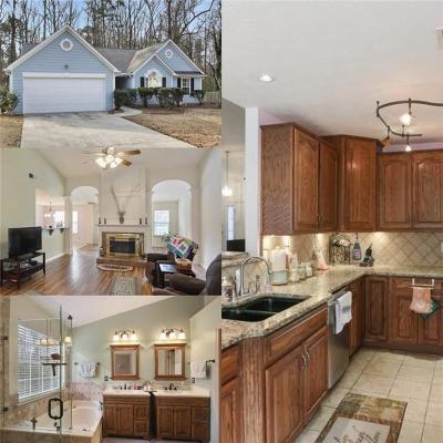 Marietta Single Family Home For Sale: 3429 Sandlake Drive SW